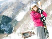 <スキーシーズン用プラン>妙高・赤倉でスキー&スノボ☆お得なプライスと掛け流し温泉が魅力☆朝食のみ