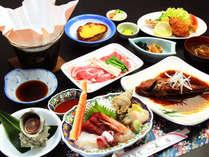 *旬にこだわり新鮮さにこだわる!海の幸をふんだんに使った季節を感じるお食事です