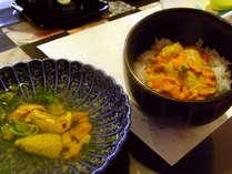 ◆【じゃらんポイント10%】≪活ウニ付≫ウニ・ウニ・ウニ!獲れたてのウニを召し上がれ♪【夕朝食付】