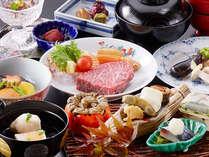 四季のグルメプラン吉翠亭の長崎和牛を使用した「ステーキ会席」