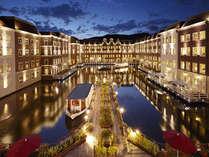 ハウステンボスを高級感漂う空間へと誘う 最上級のホテルヨーロッパ!