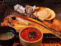 炉ばた煉瓦で味わう♪ 釧路名物炉ばた焼き夕食プラン