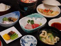 【日替わり和食御膳】ビジネス、得旅応援!ご夕食一例 (夕食受付時間 PM6:00~PM7:30)