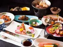 【彩 ~IRODORI~】郷土料理を味わう◎【満腹会席】一例 (夕食受付時間 18:00~19:30)