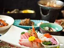 信州佐久地方の川魚を使用した、一番人気!【明治屋会席】食事一例 (夕食受付時間 18:00~19:30)