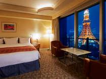 【直前割】GWも泊まれる♪人気の東京タワービュー確約のダイナミック眺望☆タワーサイドステイ