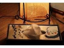 鳥取の書家・柴山抱海先生の作品をちりばめたお部屋になっています。