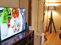 リビングの大きなテレビ