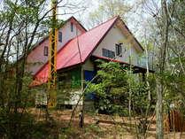 童話の中から出てきたようなメルヘンの家