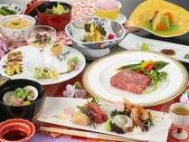 【うらら会席膳】2019年春のお料理一例 ※内容は一部変更となる場合がございます。
