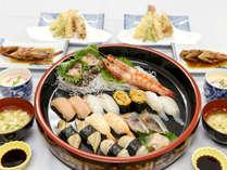 寿司プラン 蒸気家から徒歩1分。小浜の鮮魚をにぎりでどうぞ
