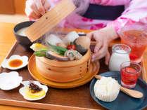【蒸し料理】食べる、温泉「蒸し料理」を味わう♪