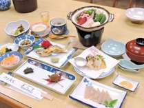 *【ジビエ料理一例】龍神村の恵みを使った郷土料理