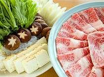 【田舎家】【和風宴会場】夕食:すきやきコース※写真はイメージです