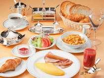 【洋朝食一例】ホテルならではの洋風の朝食をお楽しみ下さい。※写真はイメージです