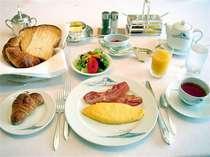 *【洋朝食一例】ホテルならではの洋風の朝食をお楽しみ下さい。