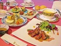 【夕食】和洋折衷コース※写真はイメージです
