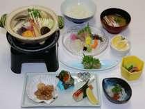 潮彩御前(和食コース)※仕入れの状況により、食材・メニューに変更がある場合がございます。