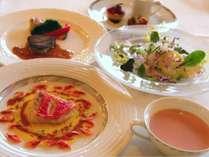 ヒストリアディナー洋食コース※写真はイメージです
