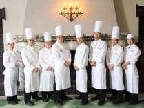 川奈ホテルの次世代を担う料理人たち