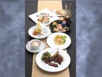 川奈ホテルの次世代を担う料理人たちが何度も試行を重ね、ハロウィンディナーをご用意いたしました。
