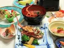 <冬季限定>伊豆産伊勢海老を使用した選べる和洋コースディナー(和食)