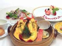<冬季限定>伊豆産伊勢海老を使用した選べる和洋コースディナー(洋食)