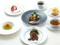 【夕食】洋食コース※写真はイメージです