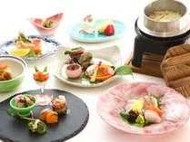 【夕食】和食コース※写真はイメージです