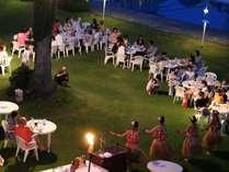 【夕食】ガーデンブッフェ※イメージ