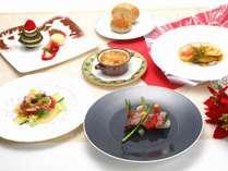 【夕食】クリスマス期間限定ディナー「シュミネディナー」