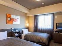 ツインルーム☆ベッドサイズ110×196(cm) 全室加湿機能付き空気清浄機完備