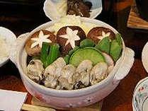 【牡蠣鍋付で税込8300円~!】ほっこり牡蠣プラン☆冬の日~金曜限定≪12月の土曜は直前割で特別ご提供≫