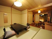 【風の庵】露天風呂付客室和室10畳≪客室一例≫