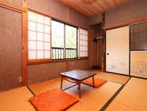 和室6畳◆自然の時を感じ静かに過ごすテレビの無いお部屋※レイクビューではございません