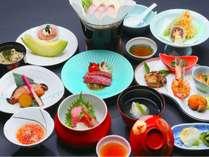 【和会席料理】三陸海岸の恵みと山里の幸・まるごと堪能プラン【夕食・朝食付き】