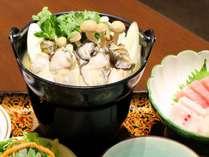 【岩手牛すきやき or 三陸カキ鍋】冬のあったか鍋定食付きプラン【2食付】