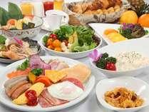 掛川グランドホテルの朝食バイキング【7:00~9:30】宿泊者限定で割引をしております。
