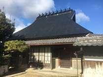 築約100年の日本の伝統感じる古民家です。