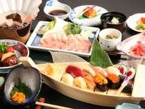 寿司・津軽豚会席