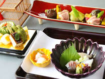 [Half board -Autumn-] Special recommend-Food of the mountains Kaiseki Cuisine Dinner Plan-