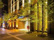 ホテルの正面は大通公園♪季節を感じて出発も素敵です♪
