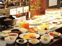 【朝食ブッフェ】クチコミ高評価!朝から金沢を存分に味わえる朝食をお楽しみいただけます。