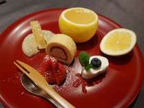 【お夕食】季節のデザート