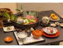【ご夕食】三重県が誇る松阪牛の超希少部位「ヒレ」が堪能できる