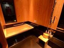 *【さくら:内湯(一例)】保温効果も高い木曽檜を使用しております