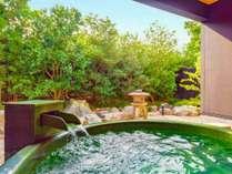 さくら】露天風呂。名湯、榊原温泉をお楽しみいただけます。