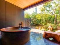 【露天風呂】名湯、榊原温泉。