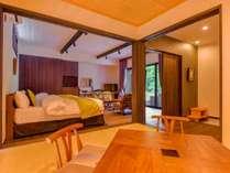 【とち】和洋室の部屋はシーンに合わせた滞在を可能にします