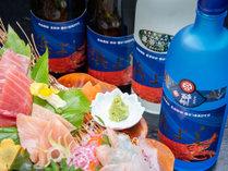 *獲れたて新鮮海の幸をたっぷり使った磯料理とお酒を堪能♪